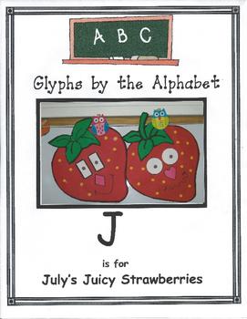 (J) July is for Juicy Strawberries
