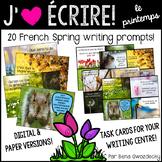{J'aime Écrire: le printemps!} French Spring writing promp