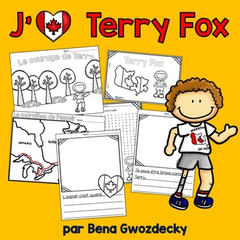 picture about Fox Printable named Jaime Terry Fox! French actions and a printable reader