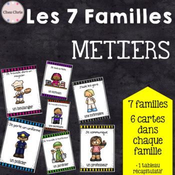 [JEU]Les 7 familles : les métiers