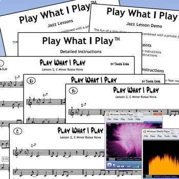 #JL02 - Play What I Play Lesson 2, C Minor Bossa