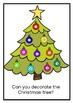 'JOHNATHAN DECORATES THE CHRISTMAS TREE'- SHORT STORY AND ACTIVITY