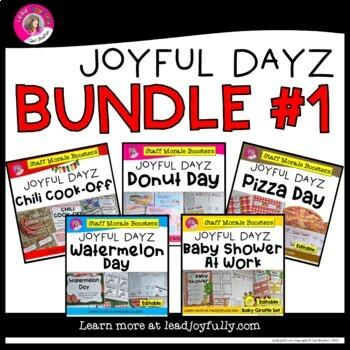 """JOYFUL DAYZ"" (Five Staff Morale Boosters) BUNDLE #1"