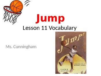 """JUMP"" Journeys third grade vocabulary"