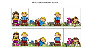 """""""Jack and Jill"""" Retell Packet"""
