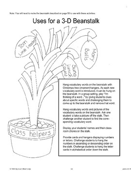 """Jack and the Beanstalk"": Art Activities"