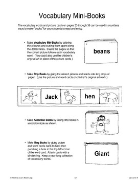 """""""Jack and the Beanstalk"""": Making Books"""