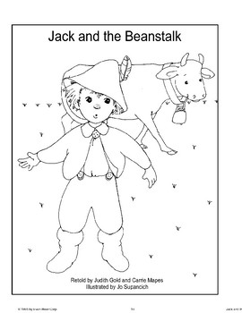 """""""Jack and the Beanstalk"""": Retold Story"""