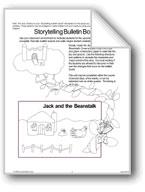 'Jack and the Beanstalk': Storytelling Bulletin Board