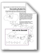 'Jack and the Beanstalk': Storytelling Bulletin Board
