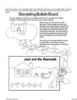 """Jack and the Beanstalk"": Storytelling Bulletin Board"