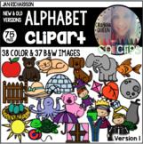 {Jan Richardson Inspired} Alphabet Clipart