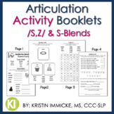 Articulation Activity Booklets /S,Z/ & S-Blends