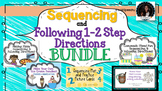 Sequence and Following Directions recipes BUNDLE 5 in 1