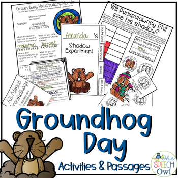 Groundhog Day Activities and Passages