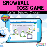 Yeti Behavior Choices Snowball Toss Game Boom Cards