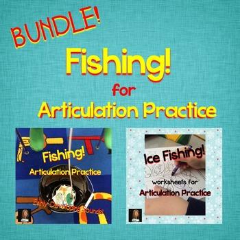 Fishing for Articulation BUNDLE!