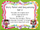 Story Retell and Sequencing Set 2