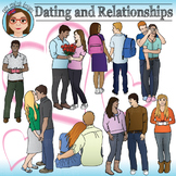 Dating and Relationships - Teen Clip Art