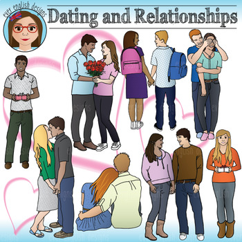 Dating And Relationships Teen Clip Art By Ever English Designs Teachers Pay Teachers