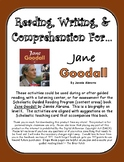 """""""Jane Goodall"""" Activities for Reading, Writing, and Comprehension"""