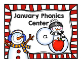 {January} Phonics Center