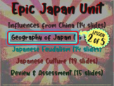 *** Japan!!! (part 2: Geography of Japan) visual, textual, engaging