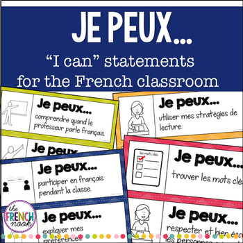 """""""Je Peux..."""" French I CAN Statements"""