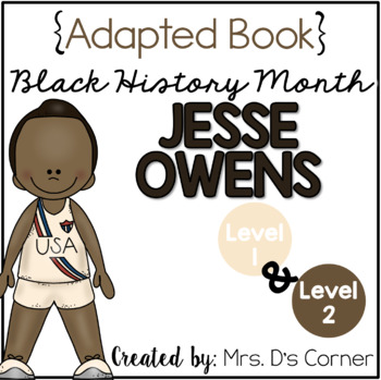 { Jesse Owens } Black History Month Adapted Book Set