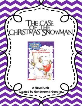 """Jigsaw Jones: The Case of the Christmas Snowman"" Novel Unit"