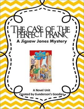 """Jigsaw Jones: The Case of the Perfect Prank"" Novel Unit"