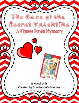"""Jigsaw Jones: The Case of the Secret Valentine"" Novel Unit"