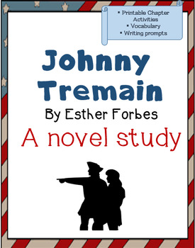 Johnny tremain teaching resources teachers pay teachers johnny tremain printables reading tasks vocabulary writing extensions more fandeluxe