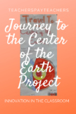 """""""Journey to the Center of the Earth"""" Travel Brochure proje"""