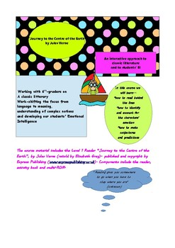 """""""Journey to the centre of the Earth"""" lesson plan- part 1"""