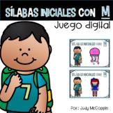 *Juego Digital* Sílabas con M