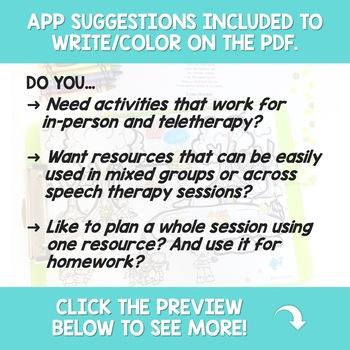 Seasons Language Scenes Bundle