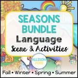 Seasons Language Scenes Bundle Speech Therapy