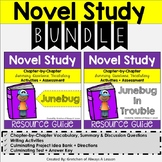 """Junebug"" & ""Junebug in Trouble"" Novel Resource BUNDLE"