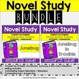 Junebug & Junebug in Trouble Novel Resource BUNDLE