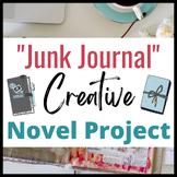 """Junk Journal"" Novel Project for ANY NOVEL:  A Creative Wa"