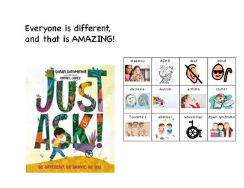 """Just Ask"" - Sonia Sotomayer Supplement Book"