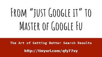"""Just Google It"": A presentation on teaching research skills"