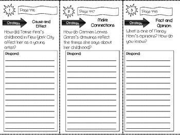 """Just Like Me"" Comprehension Trifold (Storytown Lesson 17)"
