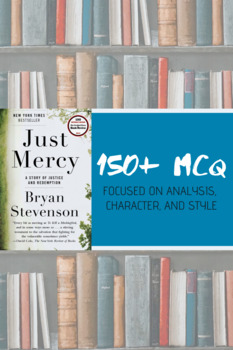 """Just Mercy"" Reading Analysis MCQ"