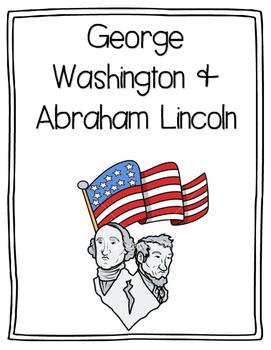 {K} Abraham Lincoln & George Washington Lesson Plan