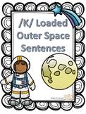 /k/ Articulation Sentences-- Tier 3 Outer Space Vocabulary!