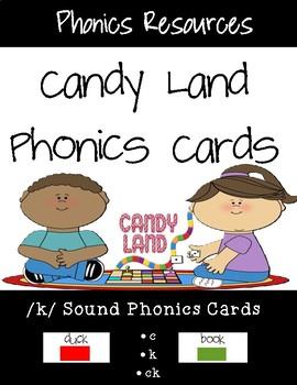 /K/ Sound Candy Land Cards