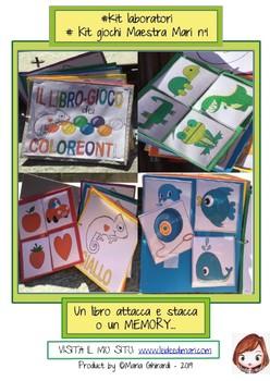 #KIT GIOCO N°1: IL LIBRO GIOCO DEI COLOREONTI / PLAYBOOK OF COLOREONTI
