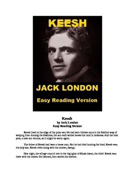 """Jack London - """"The Story of Keesh"""" Mp3 and Easy Reading Text"""